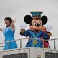 写真: 富士まつり ディズニーパレード