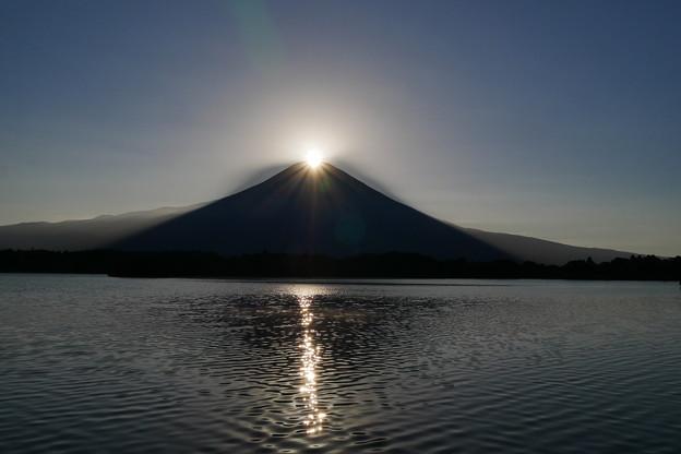 田貫湖 ダイヤモンド富士