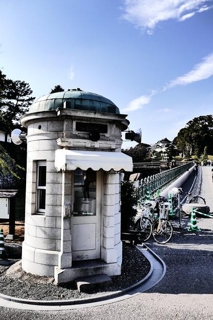二重橋前皇居