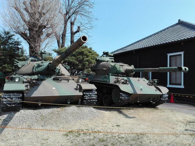 74式戦車&61式戦車