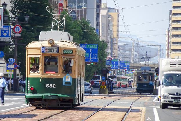 広島電鉄 被爆電車