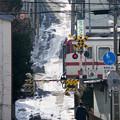 八戸線 陸奥湊駅付近