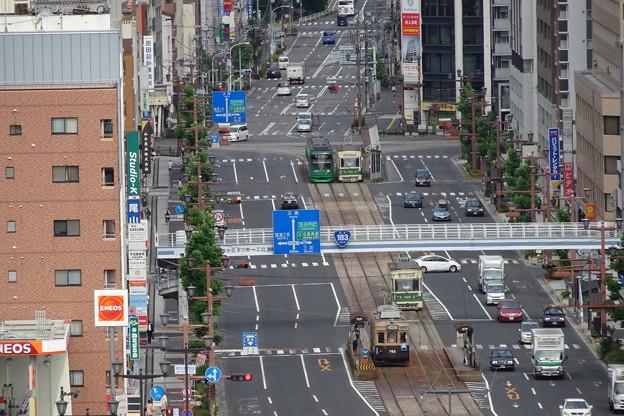 Photos: 広島電鉄 本川町~十日市町