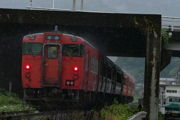 芸備線 玖村駅付近
