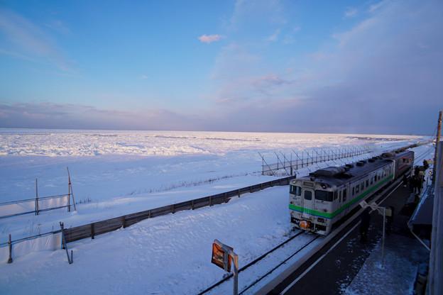 釧網本線 北浜駅