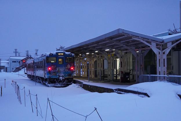 氷見線 氷見駅