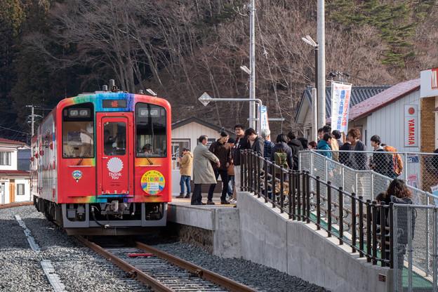 三陸鉄道 津軽石駅