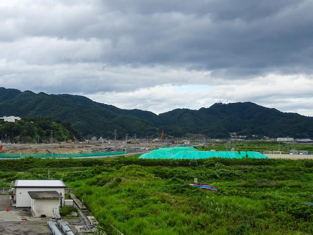 大槌町 シーサイドタウンマストから(2015年)