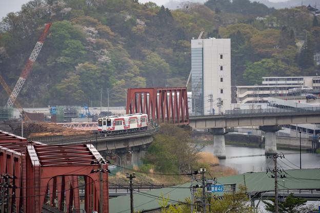 Photos: 三陸鉄道 釜石駅付近