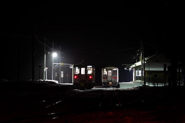Photos: 留萌本線 峠下駅