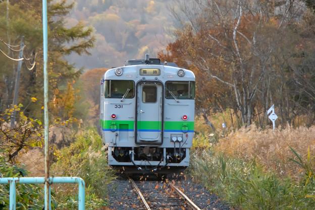 札沼線 月ヶ岡駅