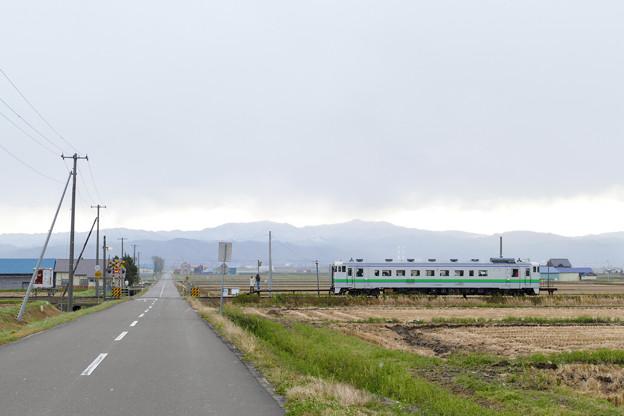 札沼線 南下徳富駅