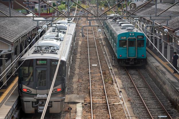 和歌山線 五条駅