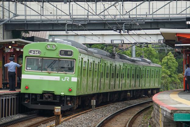 奈良線 稲荷駅