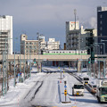Photos: 宗谷本線 旭川駅~旭川四条駅