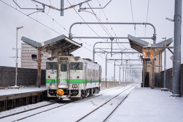 宗谷本線 旭川四条駅
