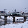 Photos: 宗谷本線 旭川四条駅~新旭川駅