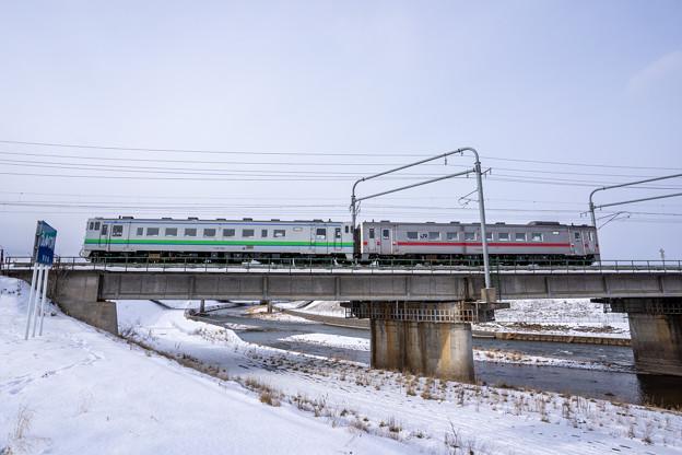 宗谷本線 旭川四条駅~新旭川駅