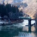 只見線 第四只見川橋梁