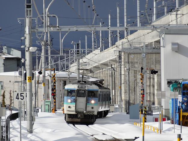 信越線 脇野田駅