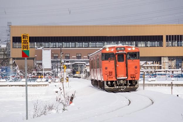 城端線 新高岡駅