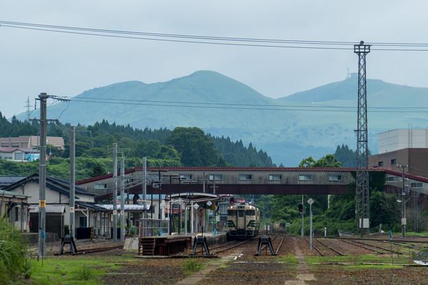 男鹿線 男鹿駅