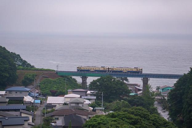 五能線 あきた白神駅~岩館駅