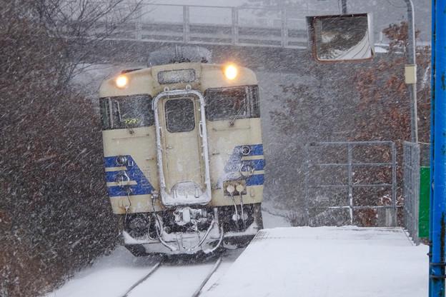 五能線 ウェスパ椿山駅