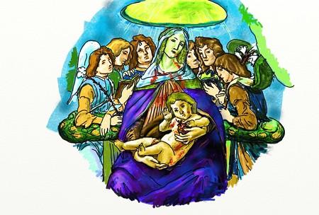 ざくろの聖母