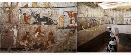 エジプト壁画1