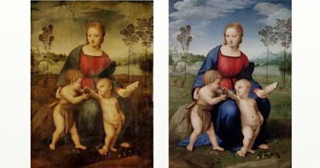 ラファエロひわの聖母1