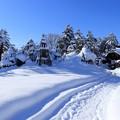 写真: 上杉神社_冬の晴れ間1