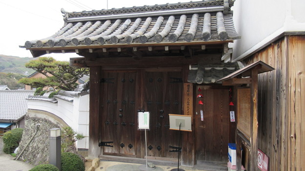 旧萱野家門(九度山町)