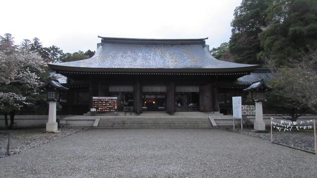 Photos: 吉野神宮(奈良県吉野町吉野山)拝殿
