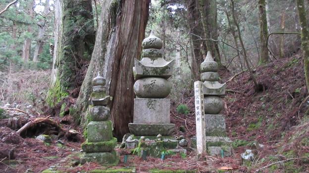 Photos: 高野山金剛峯寺 奥の院(高野町)三州久貝家墓所