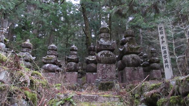 Photos: 高野山金剛峯寺 奥の院(高野町)肥前平戸松浦家墓所