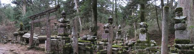 Photos: 高野山金剛峯寺 奥の院(高野町)出羽米澤上杉家墓所
