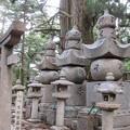 高野山金剛峯寺 奥の院(高野町)長州毛利家墓所