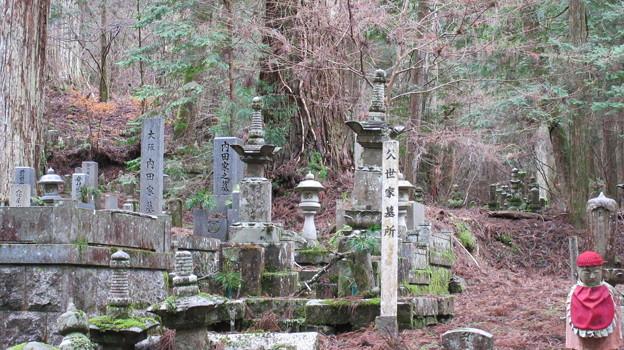 高野山金剛峯寺 奥の院(高野町)下総関宿久世家墓所