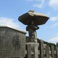 写真: 鈴鹿峠(三重県亀山市~滋賀県甲賀市)万人講常夜灯