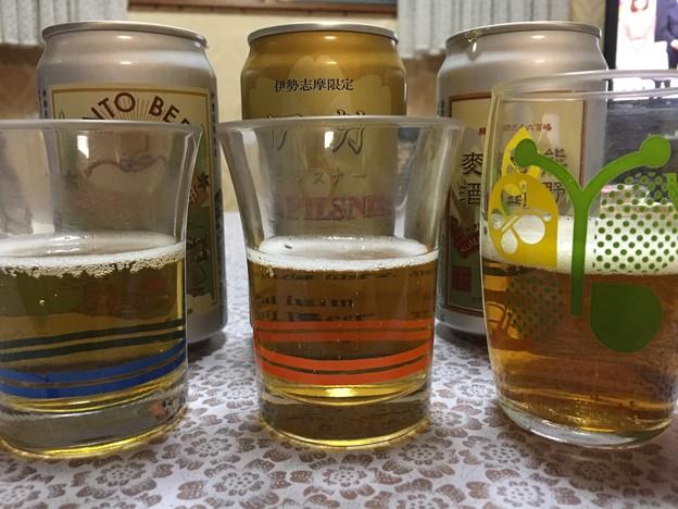 先日の伊勢土産(゜▽、゜) 飲み比べ