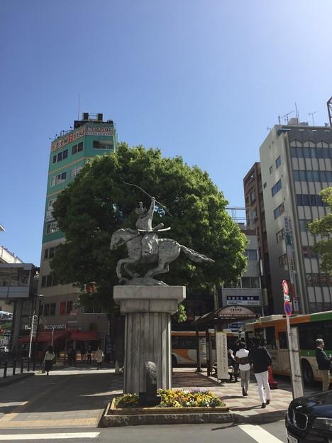 太田道灌像(西日暮里)