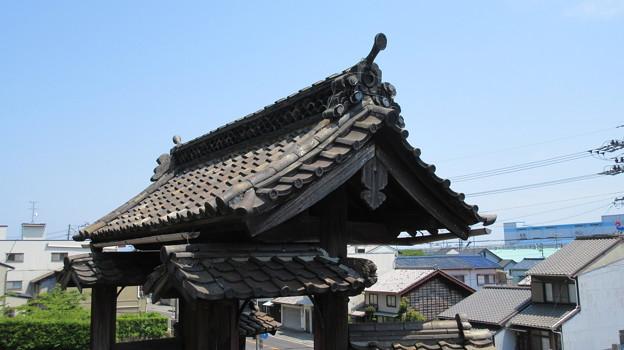 清見寺(清水区)総門