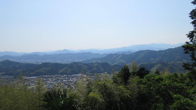 梶原山(清水区営 梶原山公園)山頂間近、西
