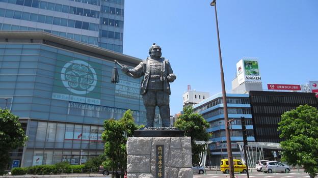 徳川家康像(静岡駅前)