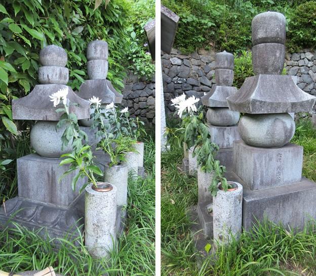 臨済寺(葵区)義元夫人・4代範政墓、6代義忠・5代範忠墓