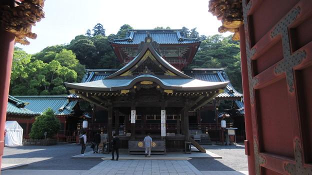駿河国総社 浅間神社(静岡市葵区)舞殿