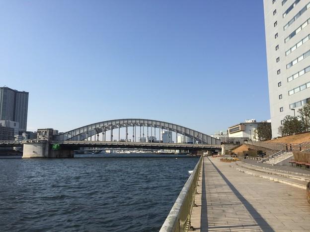 Photos: 17.02.17.勝鬨橋・隅田川(中央区築地6丁目)