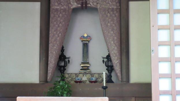 明月院(鎌倉市)北条時頼公位牌
