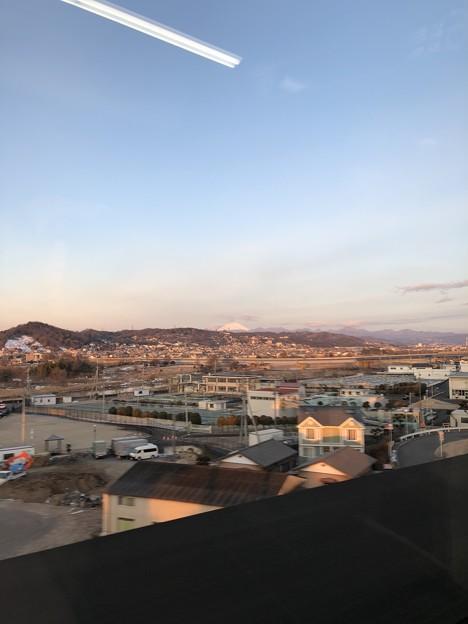 北陸新幹線より榛名山